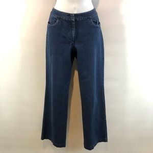 Eileen Fisher S Relaxed Straight Leg Jeans
